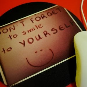 SMILE TO YOURSELF