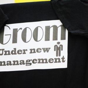T-Shirt Γαμπρός