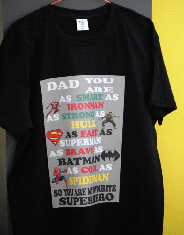 T-Shirt για τον μπαμπά